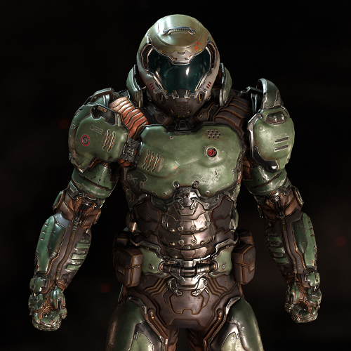 The Doom Slayer: Like Jesus, but without the mercy. Sort of.