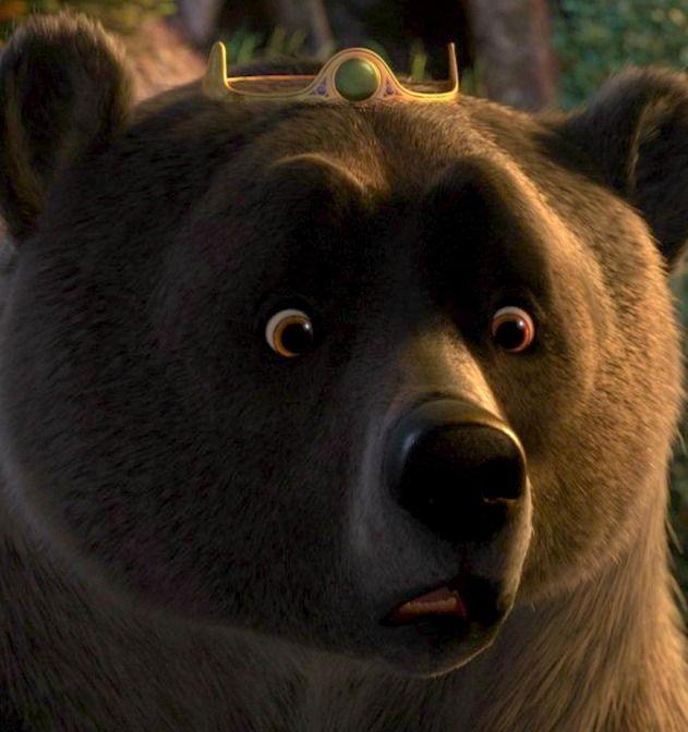Elinor the surprised-looking bear